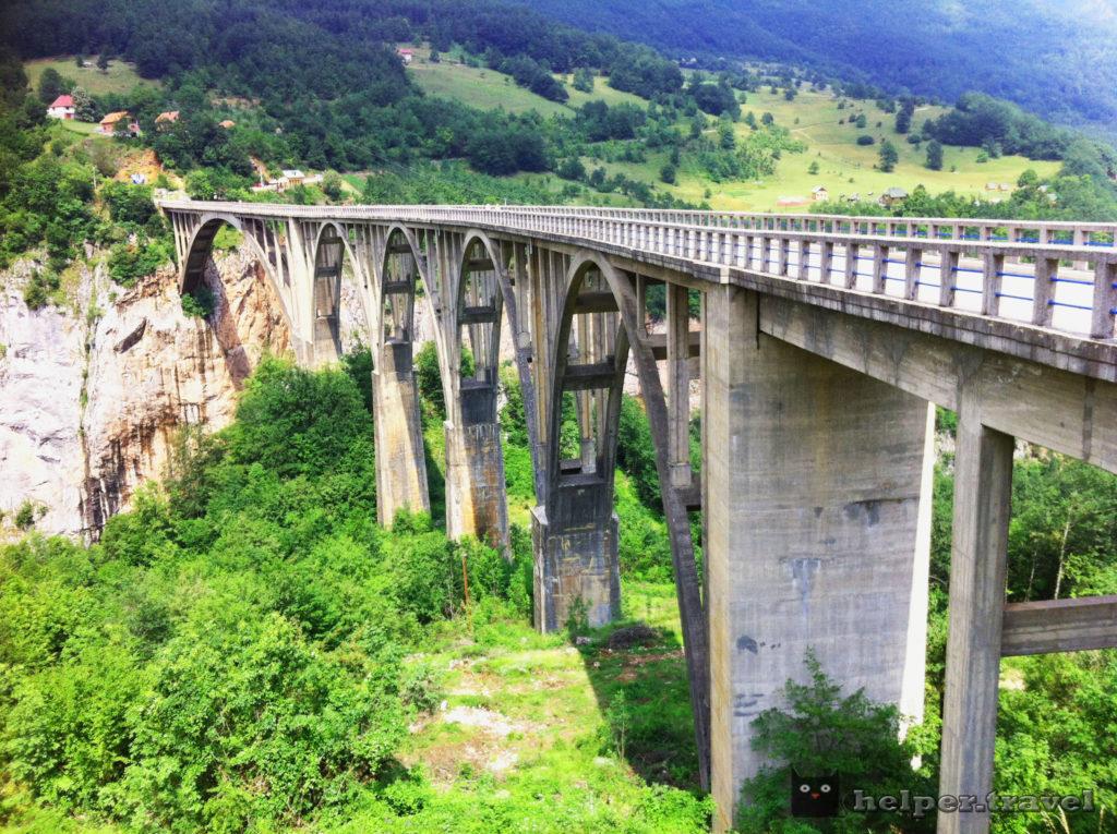Мост Джурджевича на р. Тара, Дурмитор, Черногория